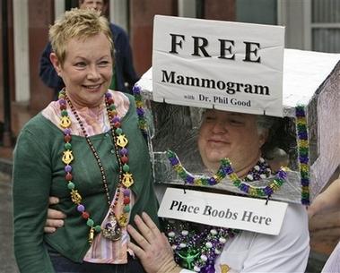 Free Mammogram Pic from Yahoo
